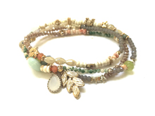 Material: Natural Beads/Crystal/Antique Elements